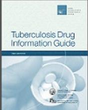 Go to online Tuberculosis Drug Information Guide, 2nd edition page