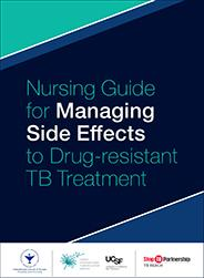 CITC Nursing Guide for Managing Side Effects to Drug-resistant TB Treatment cover