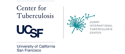 UCSF TB and Curry Center logos